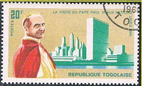 Togo 551 Used Pope Paul VI (BP11114)