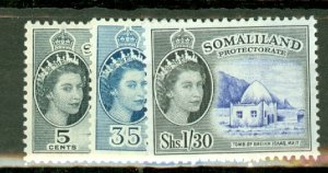 B: Somaliland 128-139 MNH CV $139; scan shows only a few