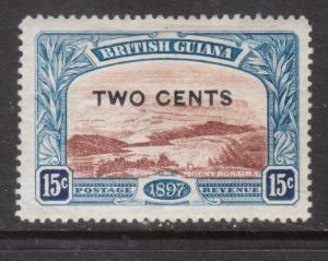 British Guiana #159a Fine - Very Fine Mint Original Gum Hinged