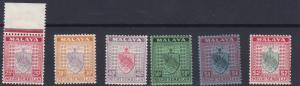 NEGRI SEMBILAN  1935 - 41   S G  33 - 38   VARIOUS VALUES TO $2   MH  CAT £80