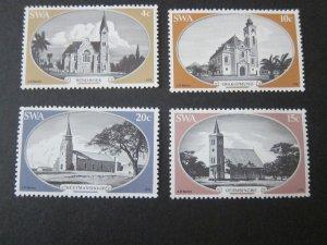 South West Africa 1978 Sc 419-22 Christmas Religion set MNH