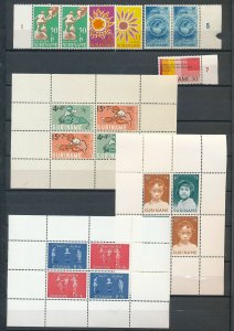 Suriname Wildlife Flowers Children MNH +Sheets(Appx 60 Stamps) (Ac 1611
