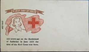 Pakistan : 1959 : First day Envelope : Red Cross