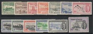 Turks & Caicos Inseln, Sc 105-117 ( Sg 221-233), MHR