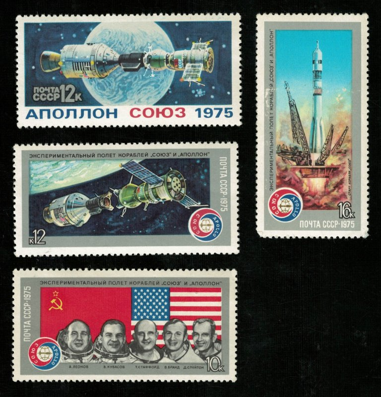 Space, USA-USSR, Apollon-Souz, MNH ** (3324-T)