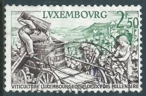 Luxembourg, Sc #345, 2.50fr Used