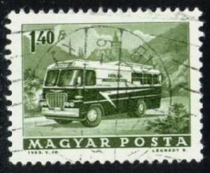 Hungary #1518 Mobile Post Office, CTO (0.25)