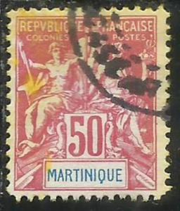FRENCH MARTINIQUE MARTINICA FRANCESE 1892 1906 PAIX NAVIGATION AND COMMERCE C...
