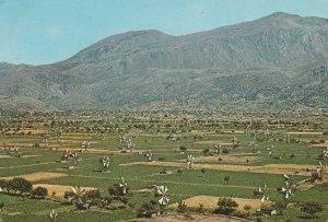 10940 Ansichtskarte Postcard CRETE PLATEAU OF LASSITHI GREECE
