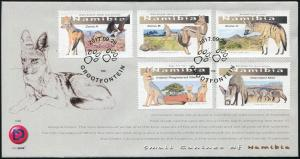 Namibia 2017. Small Canines (Mint) First Day Cover