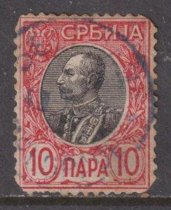 Serbia 89 King Peter I 1905
