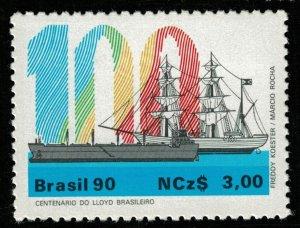 Brasil 90, Ncz$ 3.00, MNH (T-6336)