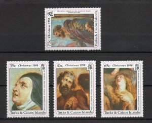 Turks and Caicos 870-871,873-874 MNH