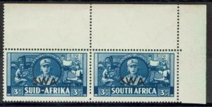 SOUTH WEST AFRICA 1941 WAR EFFORT 3D MNH ** PAIR