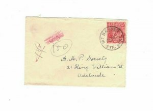 APH1485) Australia 1931 2d Red KGV Die I Small Cover