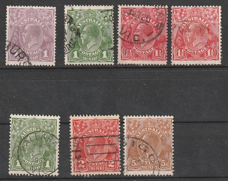 Australia Used George V