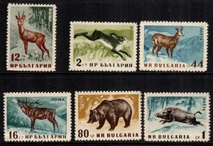 Bulgaria  1004 - 1009  MNH $ 6.45