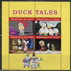 CHAD  2021 DUCK TALES  SHEET MINT NEVER HINGED