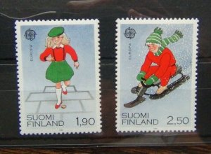 Finland 1989 Europa set MNH
