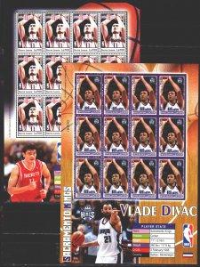 Sierra Leone. 2004. l4698-03. NBA, Basketball USA. MNH.