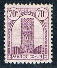 French Morocco 183 MLH Tower of Hassan 1943 (F0116)