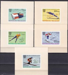 Malagasy #538-40, C149-50  MNH  Deluxe SheetsCV $9.00 (A18474L)