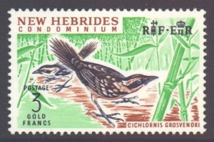 Vanuatu New Hebrides Scott 106 - SG108, 1963 Pictorial 3f MH*