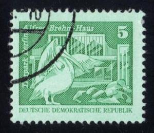 Germany DDR #2071 Pelican at Berlin Zoo, CTO (0.25)