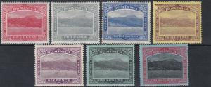DOMINICA  1908 - 20       S G  48 - 53C  VARIOUS VALUES  TO 2/6   MH