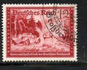 Germany # B154, Used. CV $ 2.00