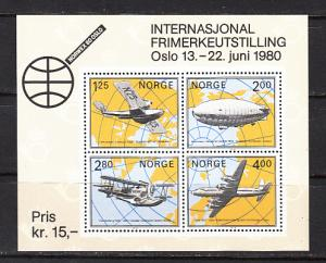 Norway SC# 753  1979 NORVEX S/S MNH