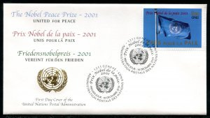 384 UN - Geneva Nobel Peace Prize OFDC