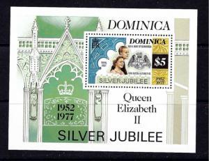 Dominica 526 MNH 1977 QEII Silver Jubilee S/S