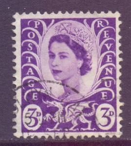 GB Regional Wales Scott 1 - SG W1, 1958 3d used