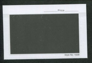 Box of 1000 Count 102B Heavy (Thick) Dealer Stamp Stock Cards 4-1/4 x 2-3/4
