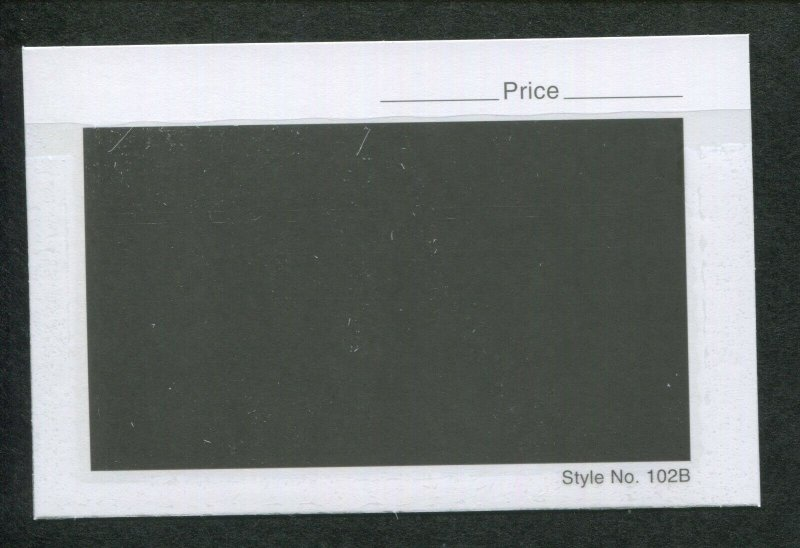 Lot of 3 Boxes 3000 Count 102B Heavy Dealer Stamp Stock Cards 4-1/4 x 2-3/4