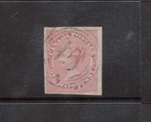 Canada #8 VF Used With Ideal 4 Ring 15 Cancel Guelph