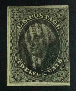 MOMEN: US STAMPS #17 USED LOT #54354