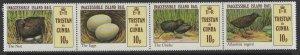TRISTAN DA CUNHA SG315a 1981 INACCESSIBLE ISLAND RAIL MNH