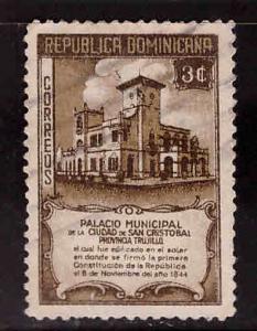 Dominican Republic Scott 415 used stamp