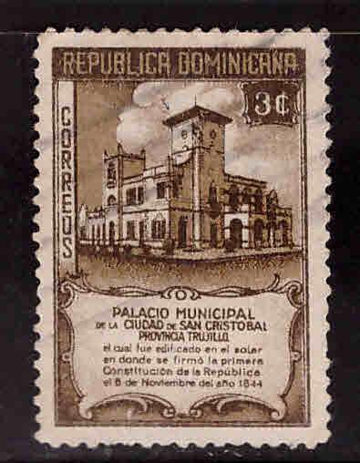 Dominican Republic Scott 415 used stamp