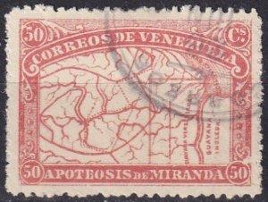 Venezuela #140 F-VF Used CV $25.00  (Z1345)