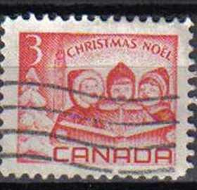 CANADA, 1967 used 3c, Christmas.