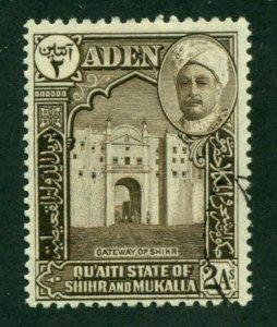 Aden (Quaiti-Shihr-Mukalla) 1942 #5 U SCV(2018)=$0.95