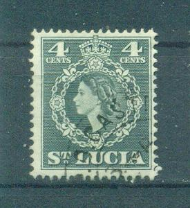 St. Lucia sc# 160 used cat value $.25