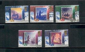 G.B 1988  COMMEMORATIVES  SET XMAS  h 071220   , USED