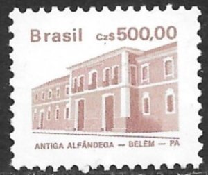 BRAZIL 1986-88 500cz Architecture Series Scott No. 2073 MNH