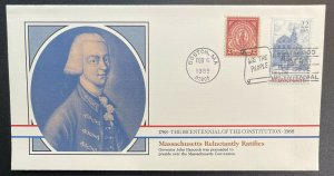 US #2341 FDC + #682- Bicentennial of Constitution 1787-1987 [BIC50]
