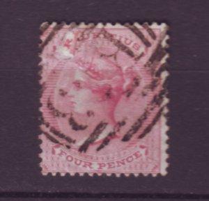 J21949 Jlstamps 1863-72 mauritius used #35 queen wmk 1