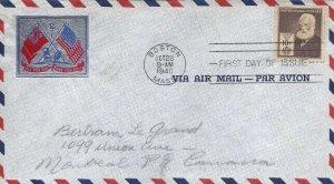 893 10c  ALEXANDER GRAHAM BELL -  Sent to Canada